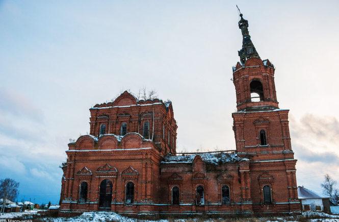 церковь село алкужинские борки моршанский район тамбовская область
