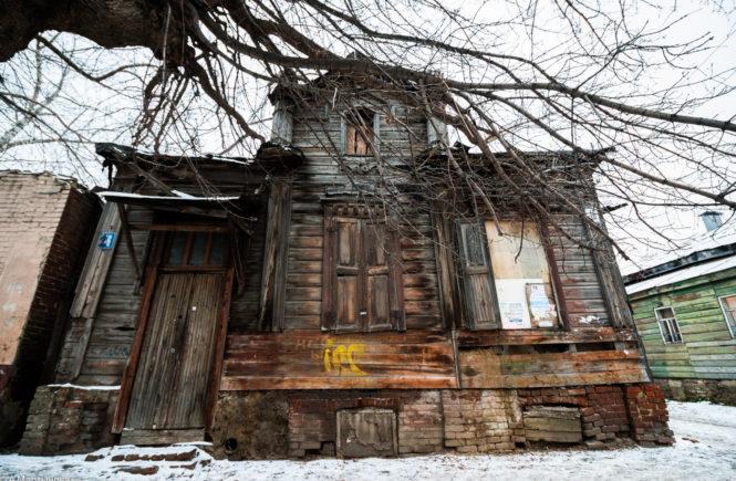 тамбов заброшенный дом