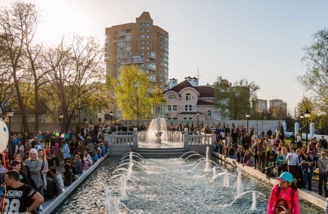 Праздник фонтанов в Усадьбе Асеевых 2017