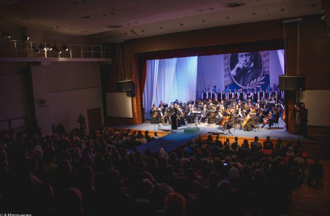 Закрытие Фестиваля Рахманинова в Тамбове в 2017 году
