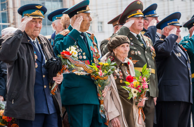 День Победы в Тамбове в 2017 году