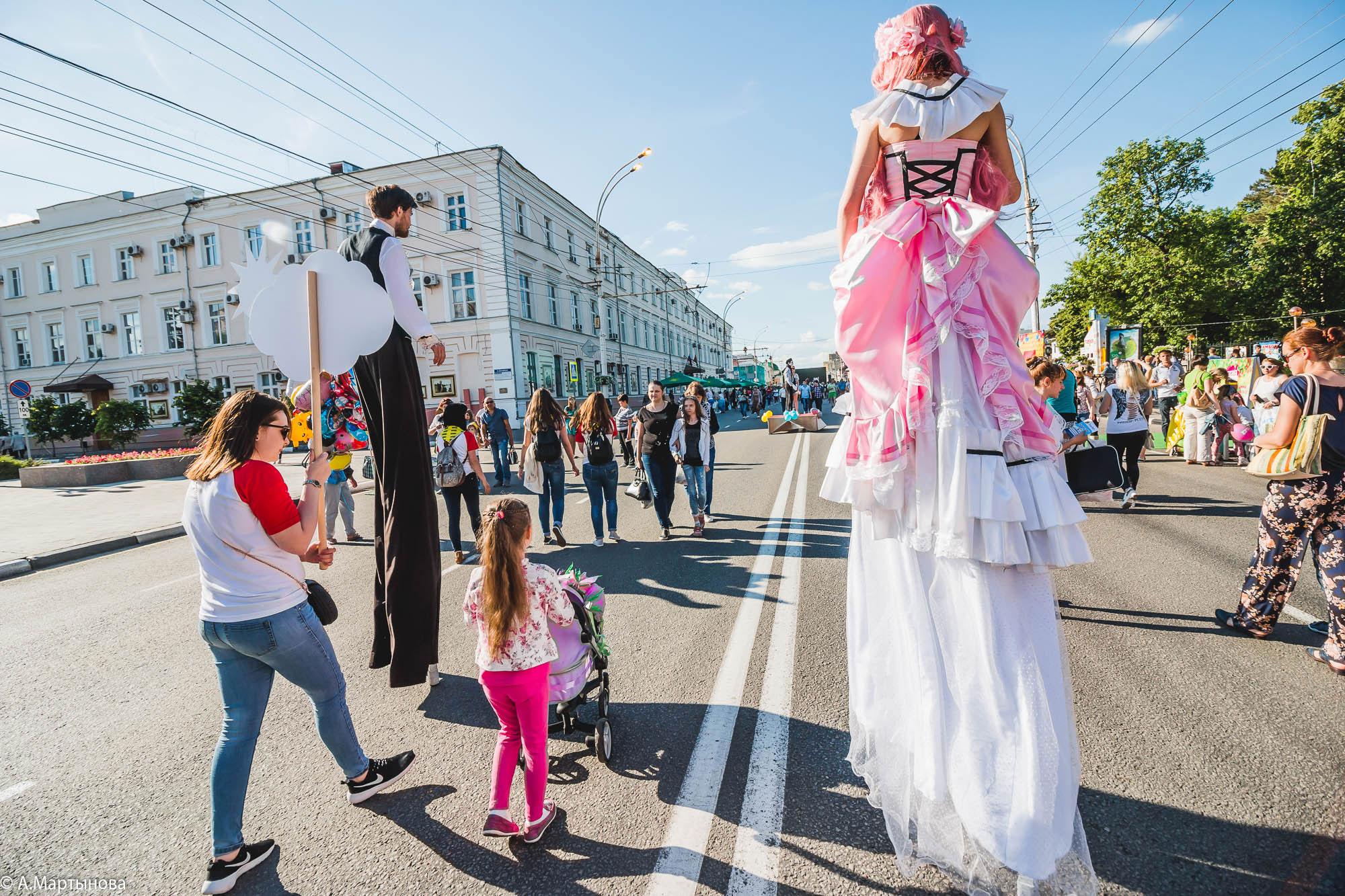 Парад колясок в Тамбове 2017